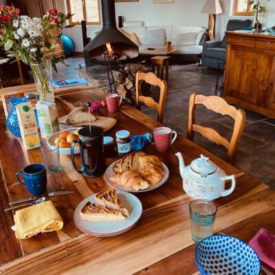 Petit déjeuner royal, local et bio